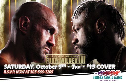 PPV Boxing at Sunray Park & Casino