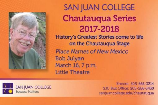 Chautauqua: Place Names of New Mexico
