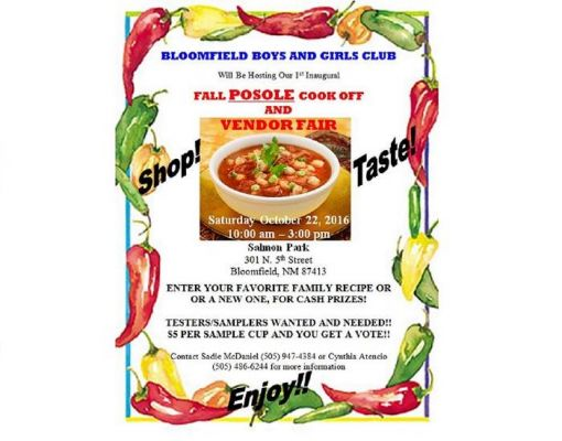 Posole Cook Off and Vendor Fair
