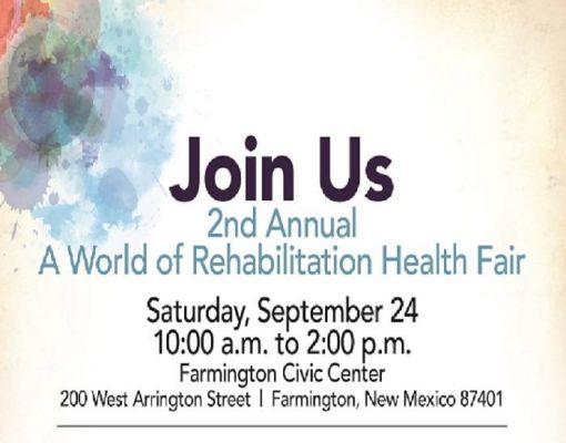 A World of Rehabilitation Health Fair