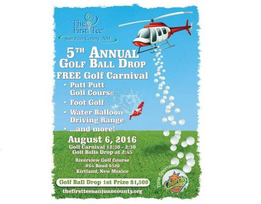 Golf Ball Drop and Golf Carnival