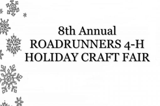 Roadrunner 4-H Holiday Craft Fair