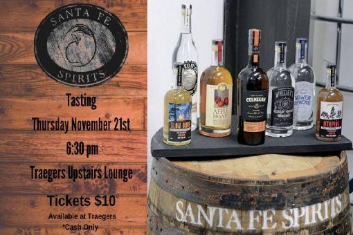 Santa Fe Spirits Tasting