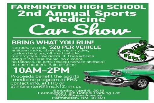 Annual FHS Sports Medicine Car Show