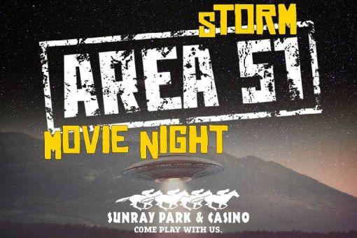 Storm Area 51 Movie Night
