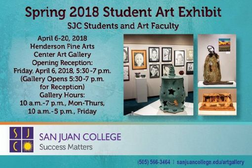Spring Art Student Exhibit