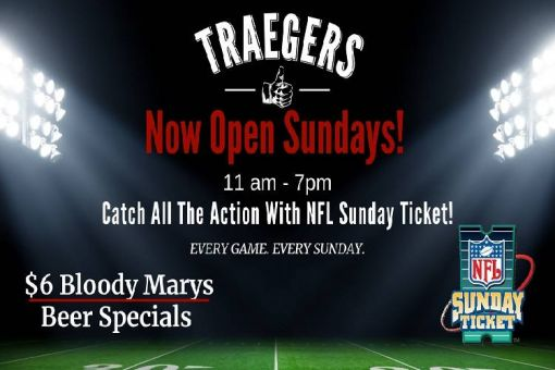 NFL Sunday Ticket At Traegers