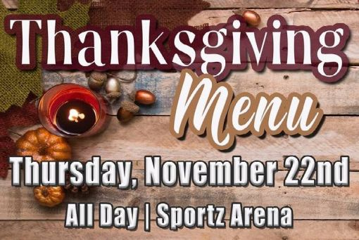 Thanksgiving Dinner at SunRay