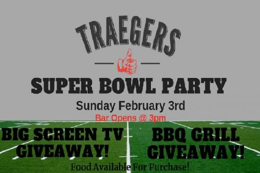 Superbowl Party at Traegers Bar