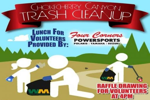 Chokecherry Trash Cleanup
