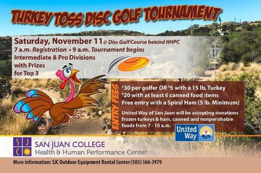 Turkey Toss Disc Golf Tournament