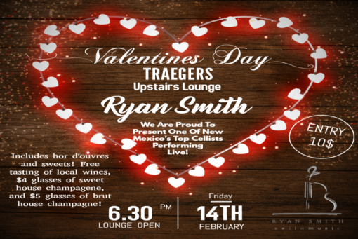 Traegers Upstairs Valentines Day Event