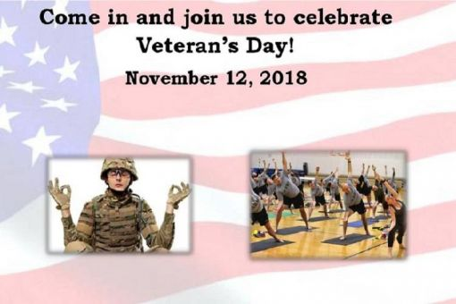 Veteran's Day Meditation and Yoga