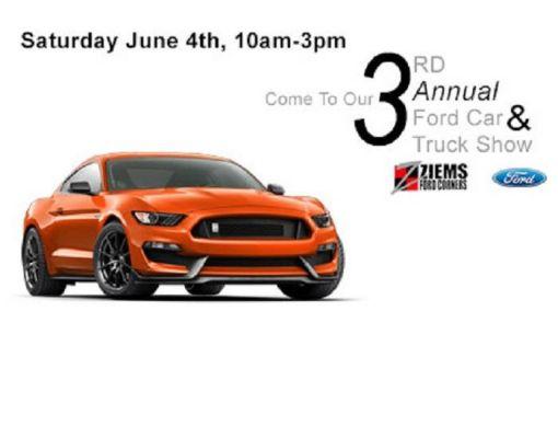 3rd Annual Ford Car & Truck Show