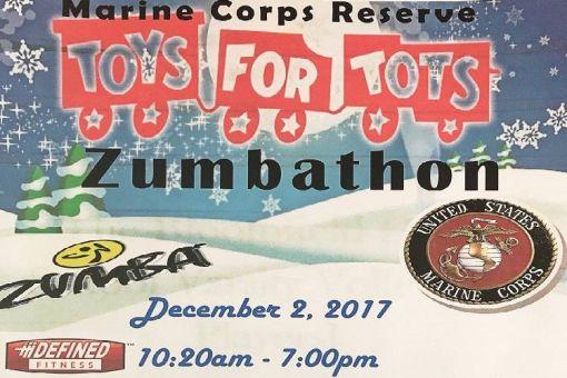 Zumba-thon ToysForTots