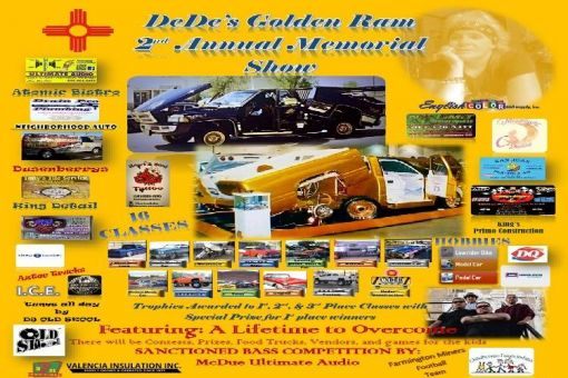 DeDe's Golden Ram Memorial Show