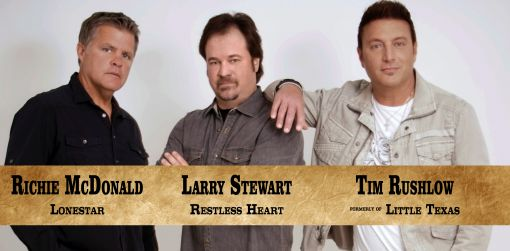 The Front Men of Country Concert