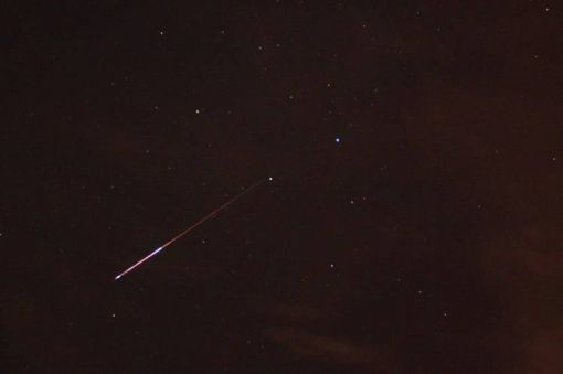 Perseid Meteor Shower at Aztec Ruins