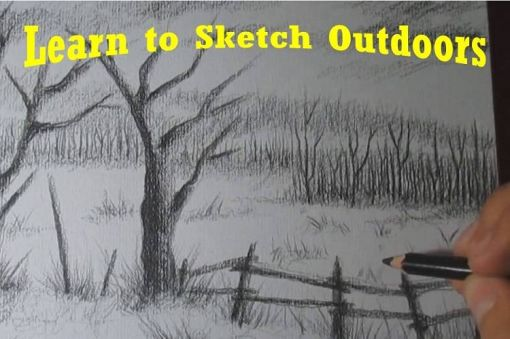 Learn to Sketch Outdoors