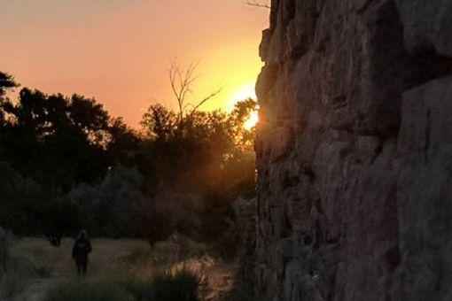 Aztec Ruins Summer Solstice Sunrise