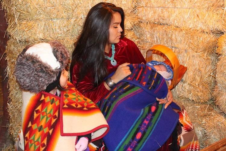Live Navajo Nativity