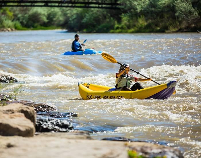 Animas River White Water Park Farmington, NM