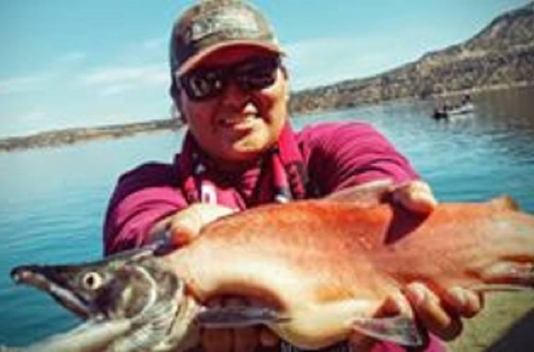 Salmon at Navajo Lake