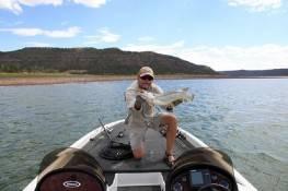 Big Catch at Navajo Lake