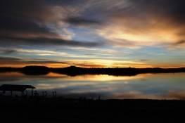 Sunrise at Lake Farmington